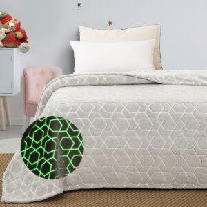 φωσφοριζέ-κουβέρτα-fleece-υπέρδιπλη-palamaiki-luminous-dune